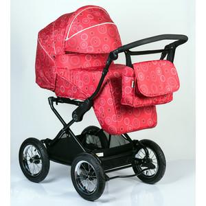 Коляска трансформер BabyHit Evenly Light Красные круги коляска 2 в 1 babyhit evenly plus бежевый evenly plus beige