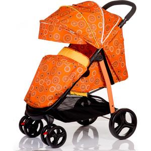 Kоляска прогулочная BabyHit Racy оранжевый с кругами