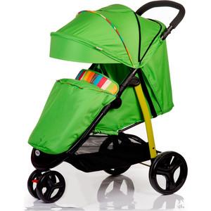 Kоляска прогулочная Baby Hit Trinity зеленая с полосками