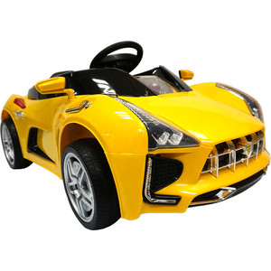 Электромобили BabyHit Sport Car желтый babyhit simpy red