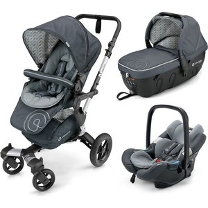 Коляска 3 в 1 Concord Neo Travel Set Graphite Grey 2016