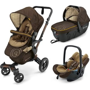 Коляска 3 в 1 Concord Neo Travel Set Walnut Brown 2016