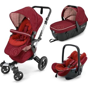 Коляска 3 в 1 Concord Neo Travel Set Tomato Red 2016