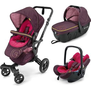Коляска 3 в 1 Concord Neo Travel Set Rose Pink 2016 автокресло concord автокресло transformer t 2016 rose pink