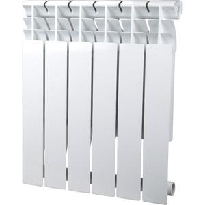 Радиатор отопления Sira алюминиевый литой Omega A 500 - 6 секций (CFOM05000680) алюминиевый радиатор sira rovall80 350 8 секций