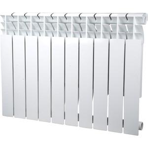 Радиатор отопления Sira алюминиевый литой Omega A 500 - 10 секций (CFOM05001080) алюминиевый радиатор sira rovall80 350 8 секций