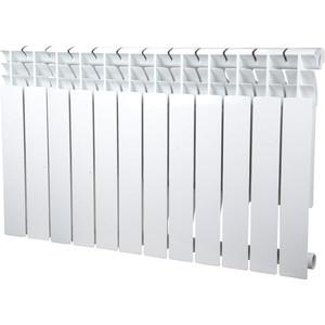 Радиатор отопления Sira алюминиевый литой Omega A 500 - 12 секций (CFOM05001280) алюминиевый радиатор sira rovall80 350 12 секций