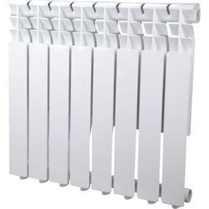Радиатор отопления Sira алюминиевый литой Omega AS 500 - 8 секций (CFOM05000875) алюминиевый радиатор sira rovall80 350 8 секций