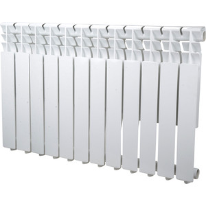Радиатор отопления Sira алюминиевый литой Omega AS 500 - 12 секций (CFOM05001275) алюминиевый радиатор sira rovall80 350 6 секций
