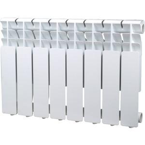 Радиатор отопления Sira алюминиевый литой Omega A 350 - 8 секций (CFOM03500880) алюминиевый радиатор sira rovall80 350 12 секций