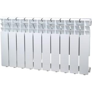 Радиатор отопления Sira алюминиевый литой Omega A 350 - 10 секций (CFOM03501080) алюминиевый радиатор sira rovall80 350 6 секций
