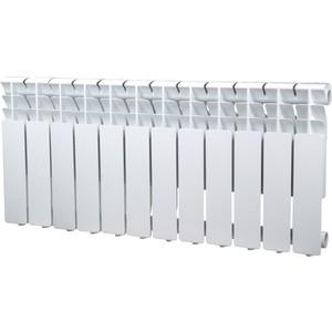 Радиатор отопления Sira алюминиевый литой Omega A 350 - 12 секций (CFOM03501280) алюминиевый радиатор sira rovall80 350 6 секций