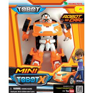 Трансформер Tobot Mini Tobot X с наклейками (301020)