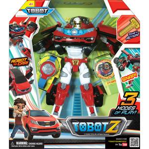 Трансформер Tobot Tobot Z с наклейками карточками браслетом и ключом-токеном (301005)