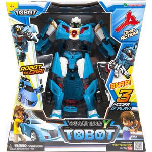 Трансформер Tobot Tobot Evolution Y с наклейками и ключом-токеном (301010)