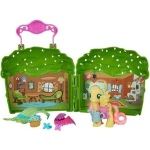 Мини набор Hasbro My Little Pony Пони Мейнхеттен - Флаттершай (B5391/B3604)