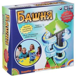 Настольная игра Bondibon Башня арт 1988 bondibon игра антивирус bb0847 sg520ru