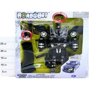 Робот - трансформер Happy Well Happy Well BOX 48х13х46 см Митсубиши Лансер арт 51010