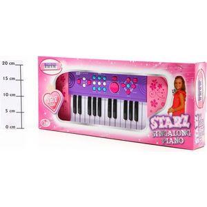 Музыкальный инструмент Potex на батар Синтезатор Starz Sing-Along Piano 25 клав арт 539B-pink
