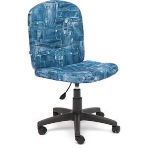Кресло TetChair STEP ткань, джинса стул компьютерный tetchair step синий голубой 2