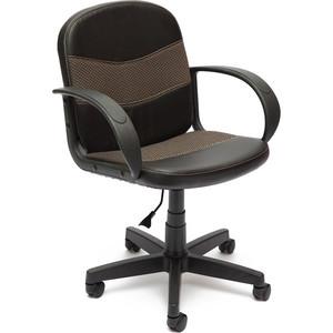 Кресло TetChair BAGGI кож/зам/ткань, черный/бежевый, 36-6/12 кресло tetchair runner кож зам ткань черный жёлтый 36 6 tw 27 tw 12