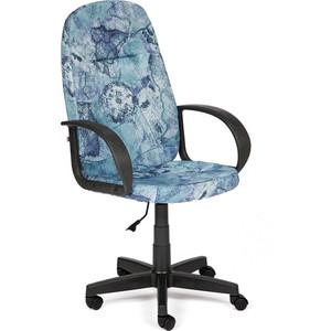 Кресло TetChair LEADER ткань, ''карта на синем''