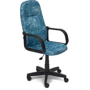 Кресло TetChair LEADER ткань, джинса кресло tetchair step ткань джинса