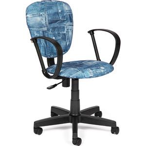 Кресло TetChair СН413 ткань, джинса кресло tetchair step ткань джинса