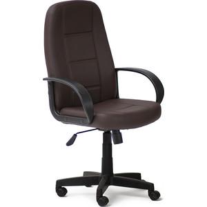 Кресло TetChair СН747 кож/зам, коричневый, 36-36