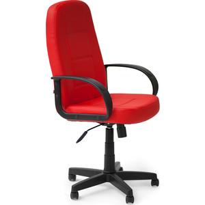 Кресло TetChair СН747 кож/зам, красный, 36-161 компьютерное кресло tetchair сн747 серый