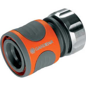 Коннектор с автостопом Gardena Premium 1/2'' (08168-20.000.00) от ТЕХПОРТ