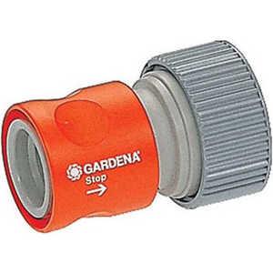 Коннектор с автостопом Gardena Профи (02814-20.000.00) какой лучше аккумулятор для лагуны 1ответ профи