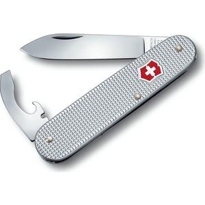Нож перочинный Victorinox Alox Bantam 0.2300.26 (84мм 5 функций, алюминиевая рукоять, серебристый) victorinox victorinox 5 5203 20