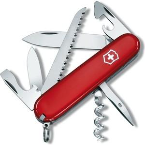 Нож перочинный Victorinox Camper 1.3613 (91мм, 13 функций, красный)