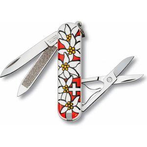 Нож перочинный Victorinox Edelweiss 0.6203.840 (58мм 7 функций, дизайн рукояти Эдельвейс)