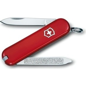 Нож перочинный Victorinox Escort 0.6123 (58мм 6 функций, красный) европа нож разделочный victorinox swissclassic 6 8063 20b