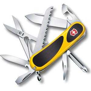 Нож перочинный Victorinox EvoGrip 18 2.4913.C8 (85мм 15 функций, жёлто-чёрный) нож victorinox vx24913 c victorinox evogrip 18 vx24913 c