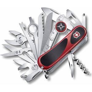 Нож перочинный Victorinox EvoGrip S54 2.5393.SC (85мм, 31 функция красно-чёрный) нож victorinox vx24913 c victorinox evogrip 18 vx24913 c
