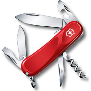 Нож перочинный Victorinox Evolution S101 2.3603.SE (85мм, 12 функций, красный)