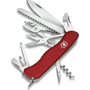 Нож перочинный Victorinox Hercules 0.9043 (с фиксатором лезвия 18 функций, красный)