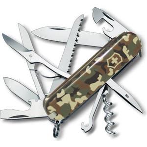 Нож перочинный Victorinox Huntsman 1.3713.94 (91мм 15 функций, камуфляж) нож перочинный victorinox swisschamp 1 6795 lb1 красный блистер