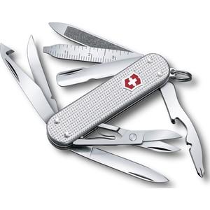 Нож перочинный Victorinox MiniChamp 0.6381.26 (58мм алюминиевая рукоять серебристый)