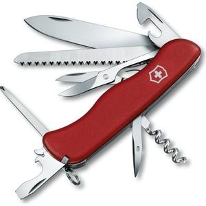 Нож перочинный Victorinox Outrider 0.9023 (с фиксатором лезвия 14 функций, красный)