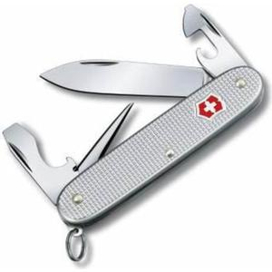 Нож перочинный Victorinox Pioneer 0.8201.26B1 (серебристый, 8 функций, блистер алюминий)
