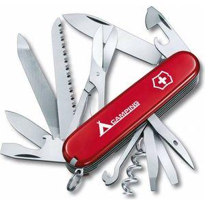 Нож перочинный Victorinox Ranger 1.3763.71 (91мм, 21 функция красный с логотипом camping)