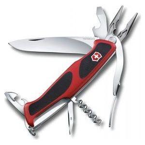Нож перочинный Victorinox RangerGrip 74 (0.9723.CB1) (красный, 14 функций)