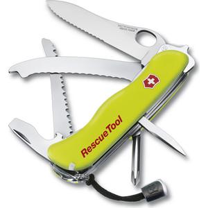 Нож перочинный Victorinox RescueTool One Hand 0.8623.MWN с фиксатором, 15 функций