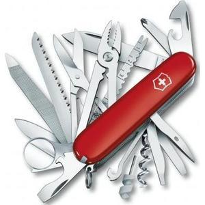 Нож перочинный Victorinox SwissChamp (1.6795.LB1) красный блистер