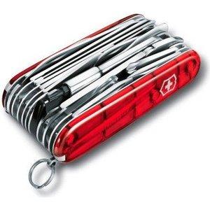 Нож перочинный Victorinox SwissChamp 1.6795.XLT (91мм, 50 функций, красный) нож перочинный victorinox compact 1 3405 91мм 15 функций красный
