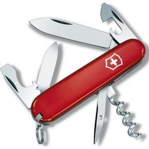 Нож перочинный Victorinox Tourist 0.3603 (84мм, 12 функций, красный)